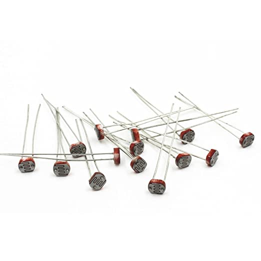 Solu 20pcs Photo Light Sensitive Resistor Photoresistor Optoresistor ...