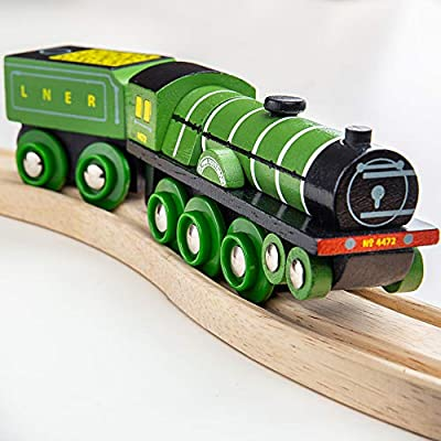 Bigjigs Rail BJT458 Heritage Collection Flying Scotsman: Toys & Games