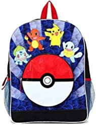 Pokemon Backpack with Pokeball Pocket