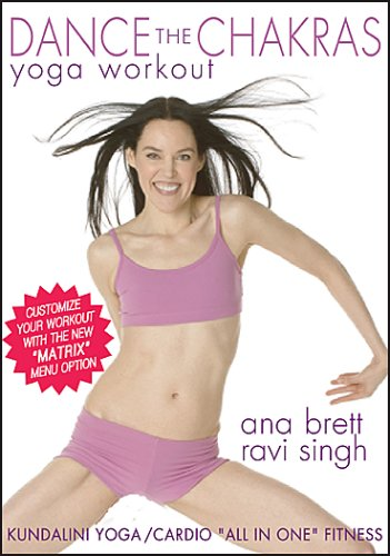 Dance the Chakras Yoga Workout - Ana Brett & Ravi Singh ***With the New MATRIX Menu Option***