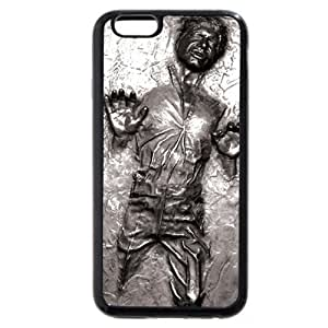 Customized Personalized Black Soft Rubber(TPU) iPhone 6 4.7 Case by mcsharks
