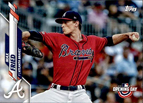 Amazon.com: 2020 Topps Opening Day #42 Max Fried Atlanta Braves Baseball  Card: Collectibles & Fine Art