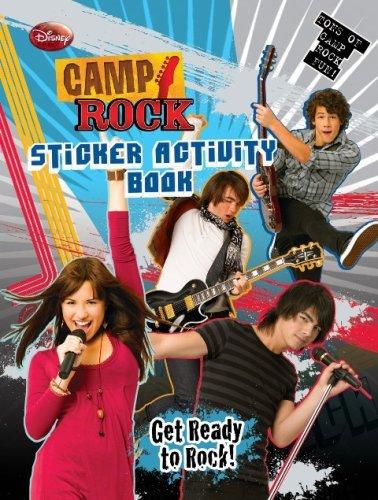 Books Camp Activity Rock (Camp Rock Sticker Activity Book)