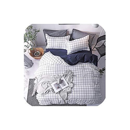 LOVE-JING Home Textile Pink Girl Heart Bedding Set 3/4Pcs Quilt Cover Queen Full King Size Children Cartoon Duvet Cover Bedclothes,K13,Twin 3Pcs,(Flat Bed Sheet) (Lego Queen Sheet Set)