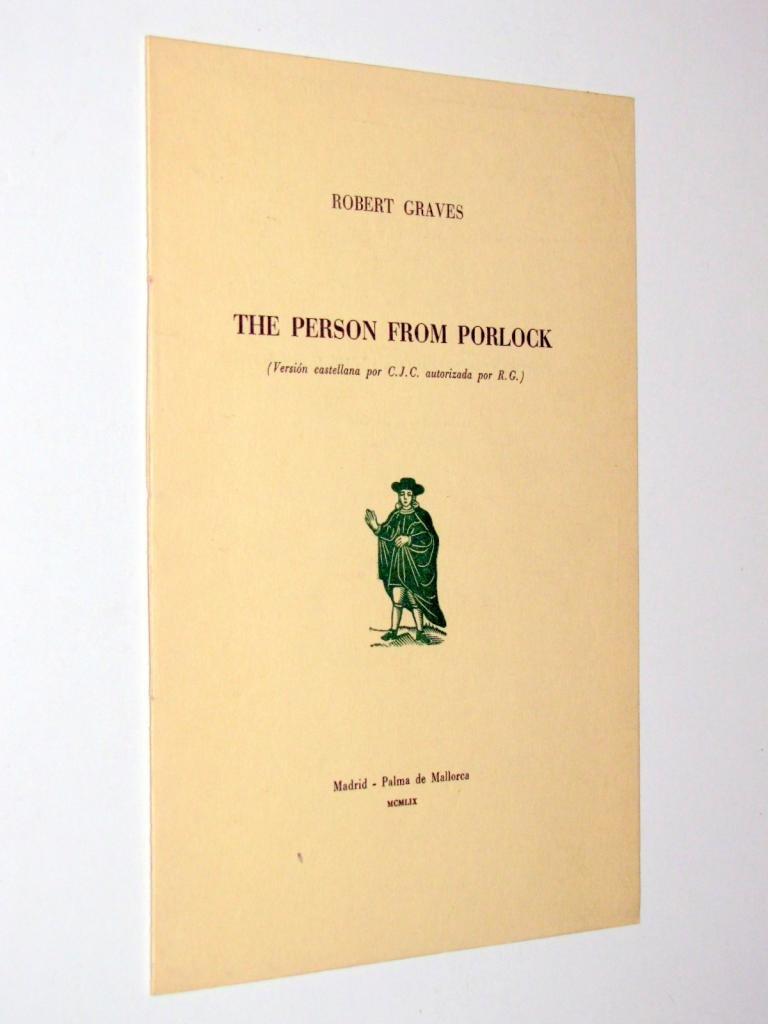 Amazon.com: The Person from Porlock: Robert Graves: Books