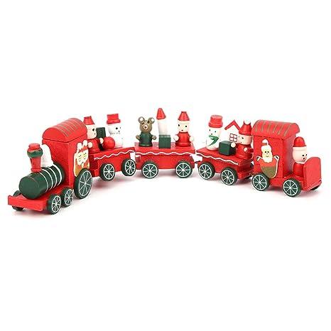 Details about  /Merry Christmas Train Set Toy Presents Home Decoration Pendant Ornaments Design