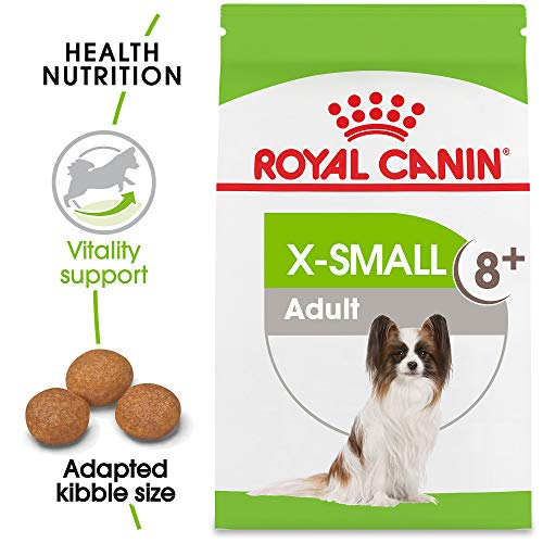 Royal Canin Size Health Nutrition X-Small Adult 8+ Dry Dog Food, 2.5-Pound