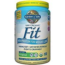 Garden of Life Organic Meal Replacement - Raw Organic Fit Vegan Nutritional Shake for Weight Loss, Original, 30.1oz (1lb 14oz / 854g) Powder