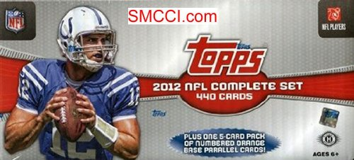 2012 Topps Football Factory Sealed Hobby Version Set Whic...