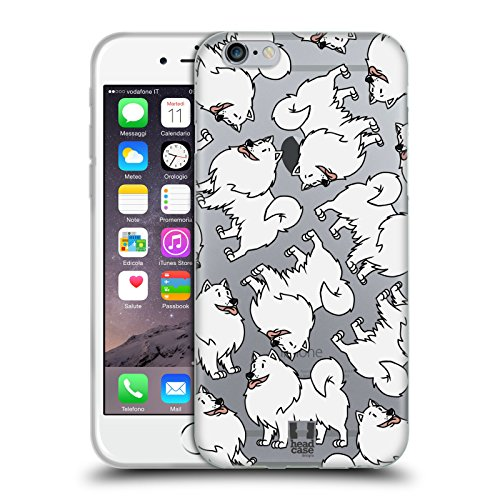erican Eskimo Dog Breed Patterns 13 Soft Gel Case for iPhone 6 / iPhone 6s ()