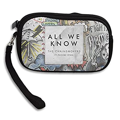 Hand Strap The Chainsmokers All We Know Pearl Clutch Bag