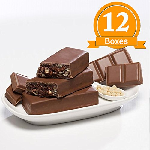 ProtiWise - Chocolate Crisp High Protein Diet Bars | Low Calorie, Low Fat, Low Sugar (12 Boxes)