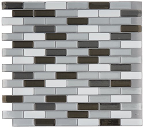 QUINCO SM1030-6 Tile Wall with Pink Tones