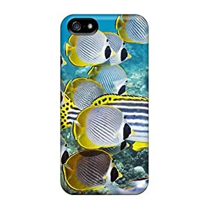 Iphone Case - Tpu Case Protective For Iphone 5/5s- Eyepatch Butterflyfish Bali Indonesia