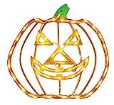 Impact Innovations Halloween Lighted Ornamental Silhouette 14x17 - Jack