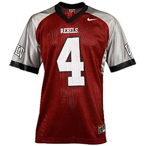buy popular 237f5 0289c Amazon.com : UNLV Rebels #4 Replica Football Jersey -Adult ...