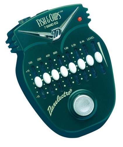 Danelectro DJ-14C Fish & Chips 7 Band EQ Mini Effects Pedal by Danelectro