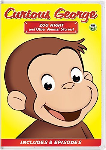 Curious George: Zoo Night and Other Animal Stories! -