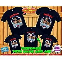 Paw Patrol birthday shirt, Paw Patrol custom birthday tshirt, Paw Patrol party shirts, Paw Patrol family shirts, Paw Patrol matching shirts
