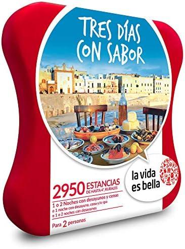 La Vida es Bella - Caja Regalo - Tres DÍAS con Sabor - 2950 Casas ...