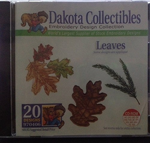 Dakota Collectibles Leaves (Dakota Designs Machine Embroidery)