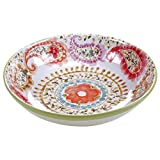 Certified International Rainbow Seeds Serving/Pasta Bowl, 13.25'' x 3'', Multicolor