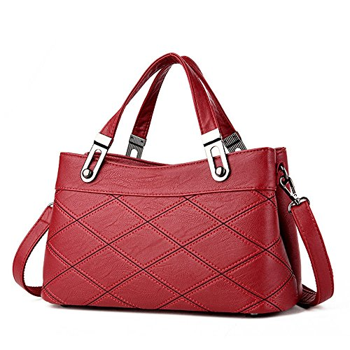 Nero Gwqgz New Bag Lady Borsa Casual Gules dZY8rqZw