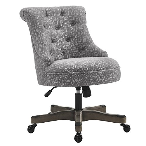 Office Chair in Light Gray Finish