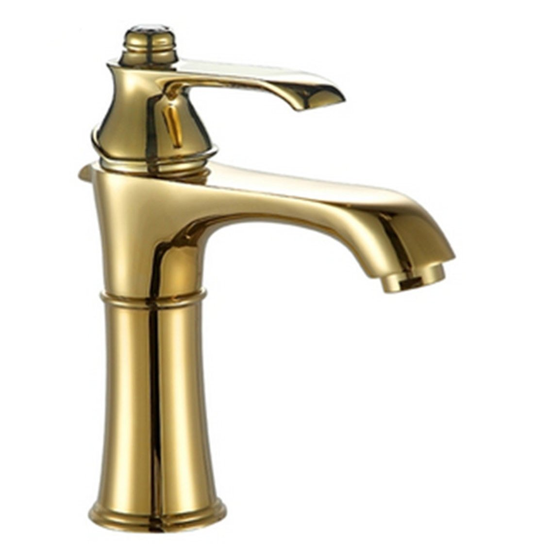 MDRW-Single gold single hole hot and cold basin faucet by MDRW