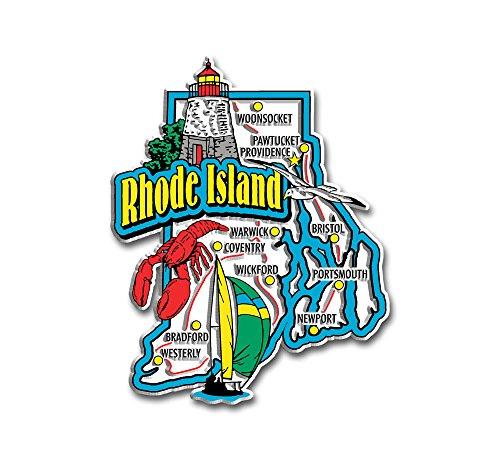 Rhode Island State Jumbo Map ()