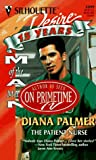 The Patient Nurse, Diana Palmer, 037376099X