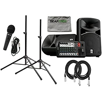 yamaha stagepas 600bt portable pa system with. Black Bedroom Furniture Sets. Home Design Ideas