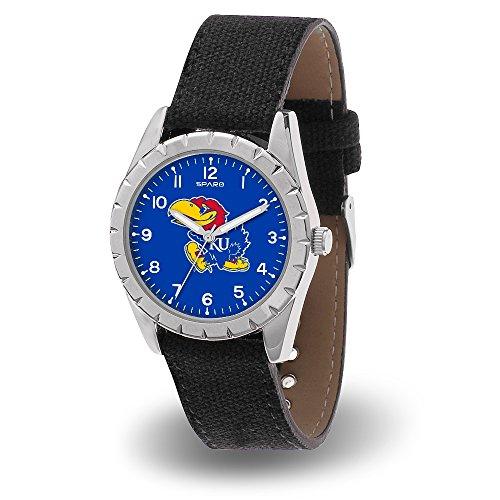 Kansas Jayhawks Womens Watch (Kansas Jayhawks NCAA Nickel Woman/Youth Size Sports Watch)
