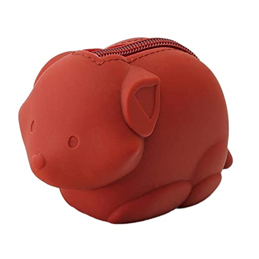Ridecyle Mini Animal Forma de Cremallera Monedero Bolso de ...