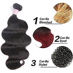 Darlena 8A Brazilian Virgin Hair Body Wave 1 Bundles 26 inch Virgin Human Hair Bundles Brazilian Hair Weave Natural Color