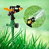 Secologo 360 Degree Rotating Lawn Sprinkler Garden Yard Watering Irrigation Circular Lawn Water Sprayer for Garden Irrigation Supplies