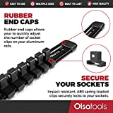 Olsa Tools Aluminum Socket Rails by