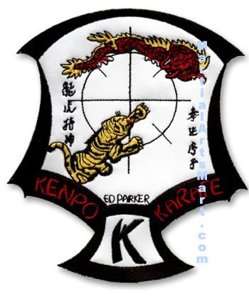 Tiger Claw Official IKKA Crest Patch - Large