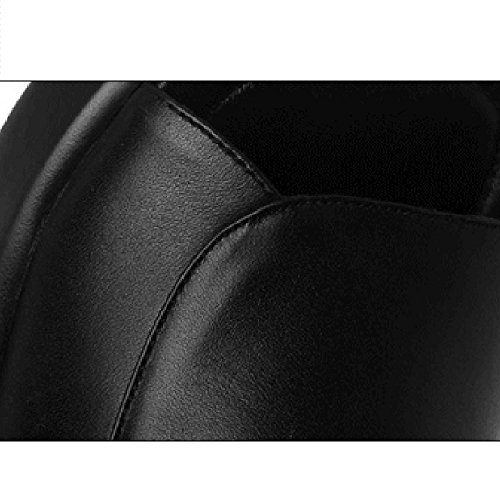 de CN41 Non New Taille Noir d'été Casual Femme Sandales Slip Couleur Pantoufles Flat Summer Pantoufles Taille Femme Blanc et UK7 EU40 Sandales coréenne Version Grande LHA Sz1Cqn