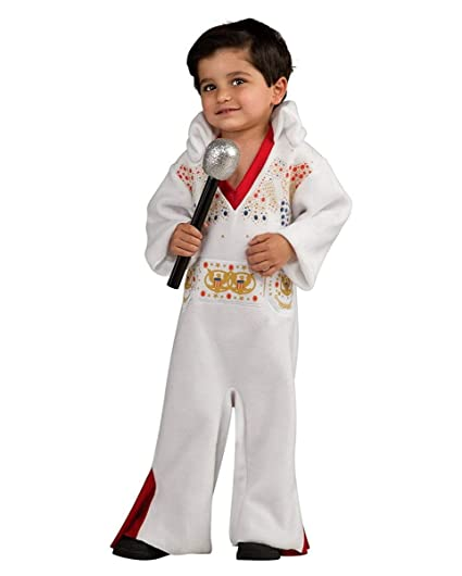Horror-Shop niños Traje Elvis Presley One Size: Amazon.es ...