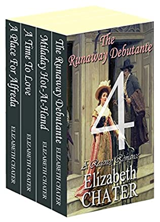 book cover of The Elizabeth Chater Regency Romance Collection #4
