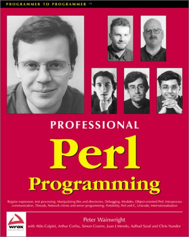 Professional Perl Programming by