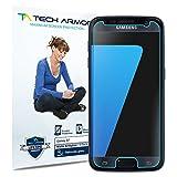 Tech Armor Samsung Galaxy S7 Anti-Glare/Anti-Fingerprint Screen Protectors [3-Pack] - 99.99% Clarity and Touchscreen Accuracy - Lifetime Warranty