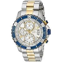 Invicta Men's 'Pro Diver' Quartz Stainless Steel Casual Watch, Color:Two Tone (Model: 23994)