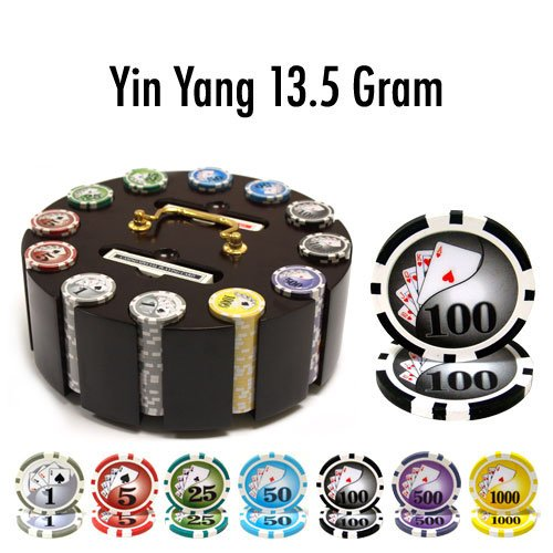 Brybelly Holdings PCS-1902R 300 Ct - Pre-Packaged - Yin Yang 13.5 G - Wooden Carousel from Brybelly Holdings