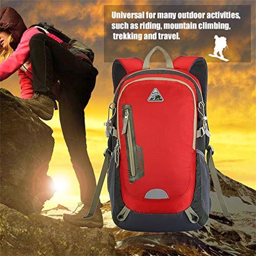 YTYC KIMLEE Male Female Double Shoulder Bag Waterproof Mountaineering Backpack by YTYC (Image #2)