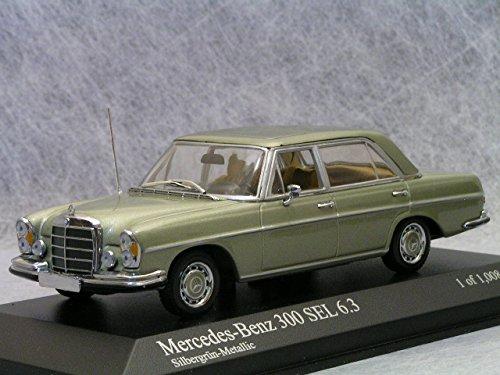 1/43 メルセデスベンツ300SEL6.3 W109 1968 ブライトグリーン 430039110