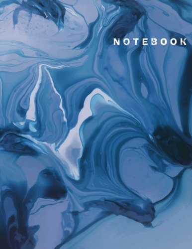 (Notebook: Blue Marble Composition Notebook ,Large College Ruled Notebook, (8.5x11 inches ) 150 pages)