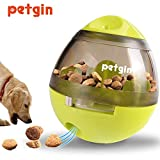 Petgin Dog Toys for Boredom Puzzle Toys IQ Treat Ball Food Slow Feeder for Small Medium Large Dogs