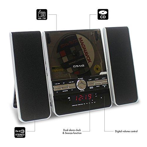 Craig Electronics Стереосистема Craig Vertical CD